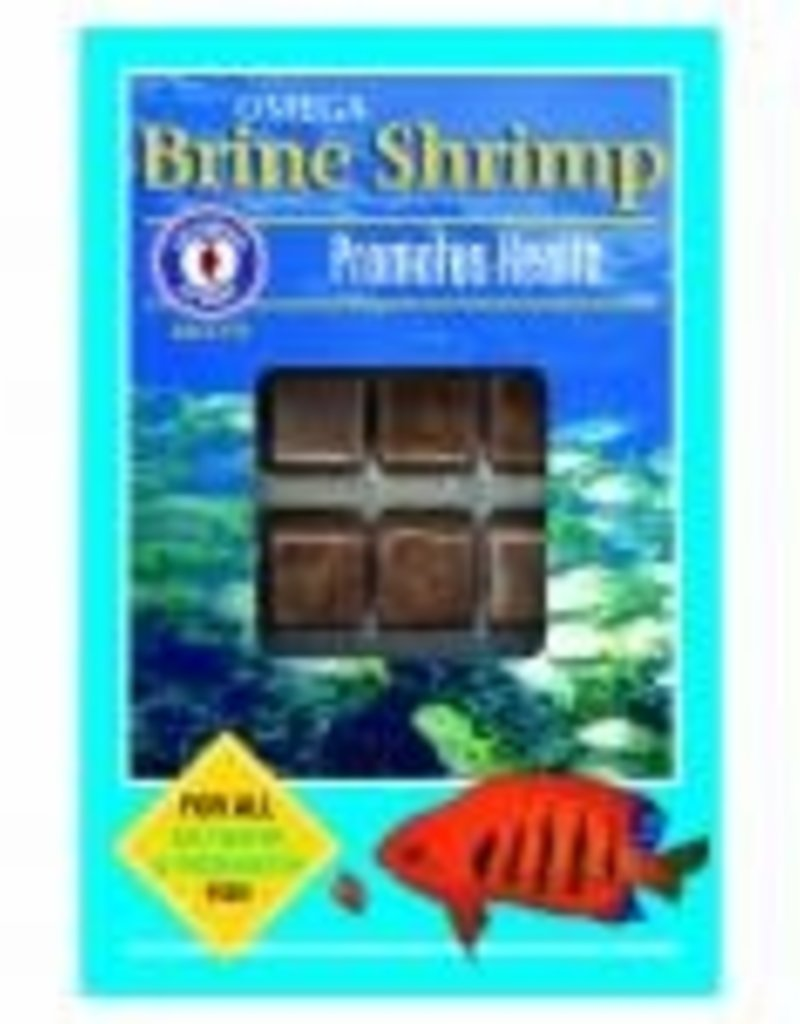 SAN FRANCISCO BAY BRAND INC San Francisco Bay Brand Frozen Omega-3 Brine Shrimp Fish Food Cubes 3.5oz