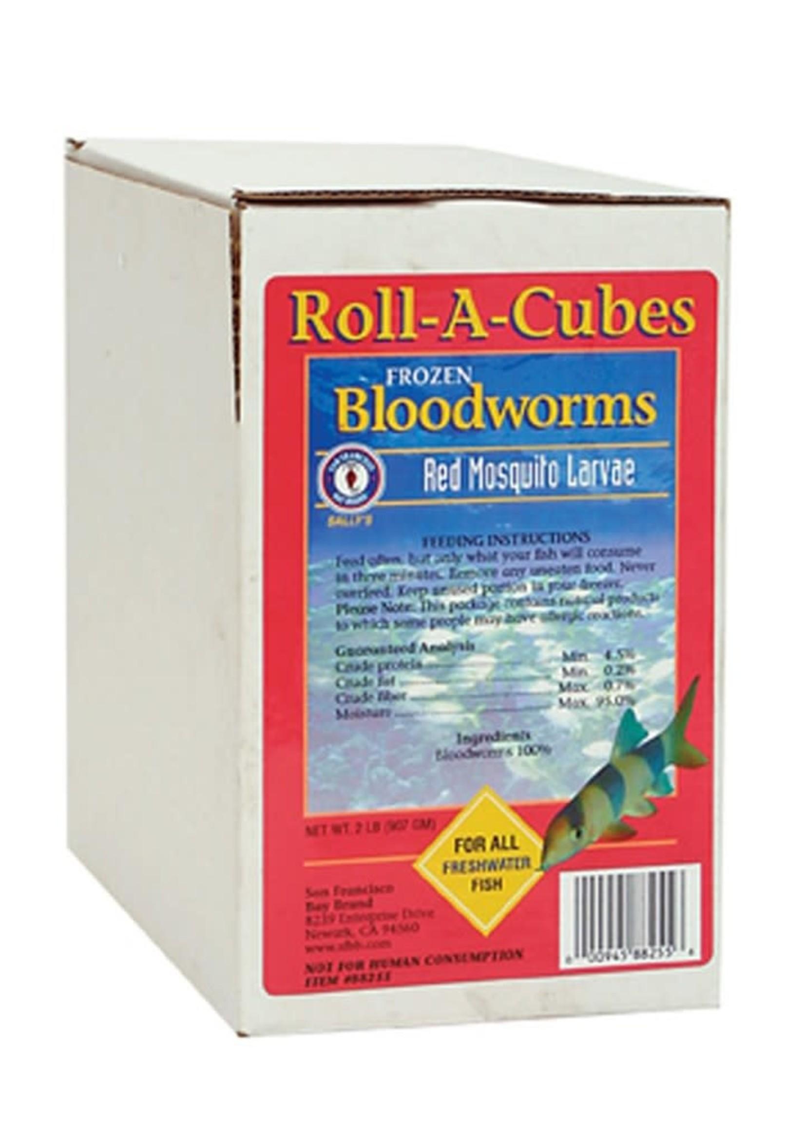 SAN FRANCISCO BAY BRAND INC San Francisco Frozen Bloodworm Roll 2#