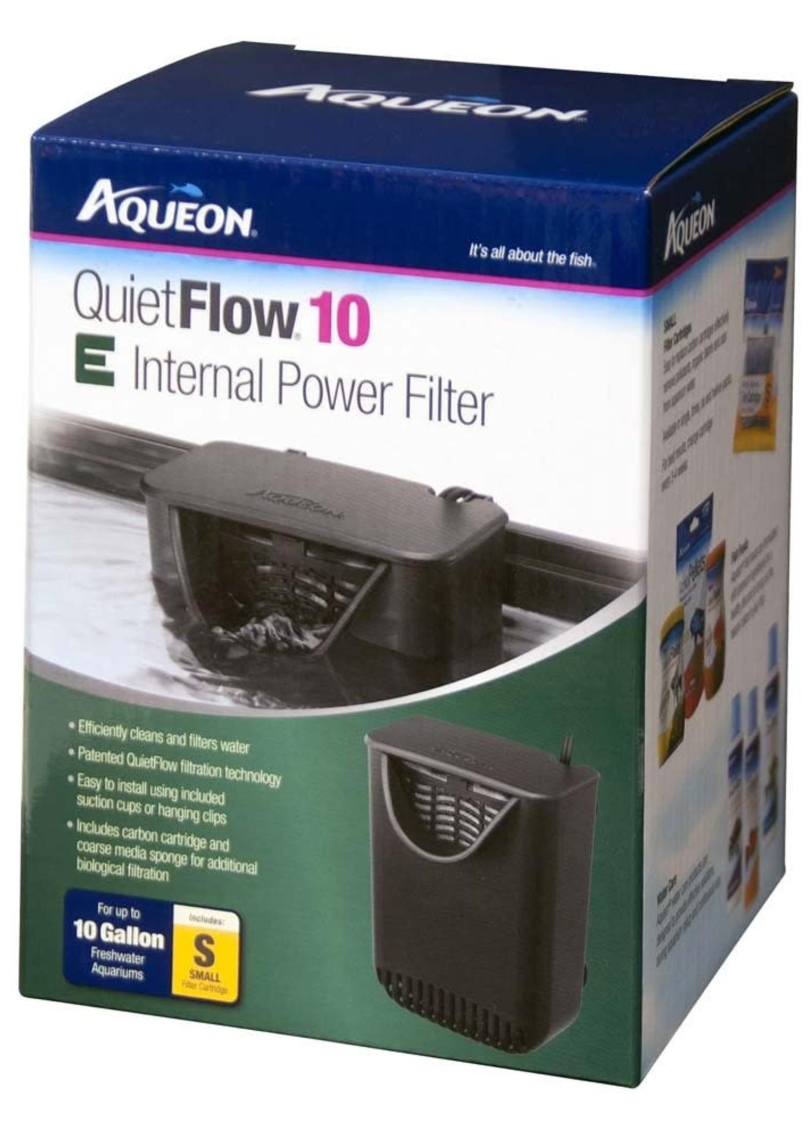 Central Aquatics/Aqueon Aqueon QuietFlow 10 E Internal Power Filter 10gal SM