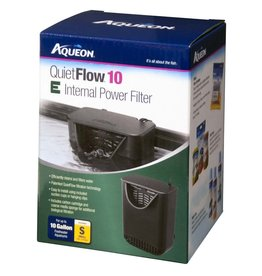 Central Aquatics/Aqueon Aqueon QuietFlow 10 E Internal Power Filter 10gal SM
