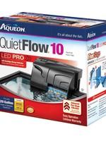 Central Aquatics/Aqueon Aqueon QuietFlow 10 LED Pro Aquarium Power Filter 10-20gal