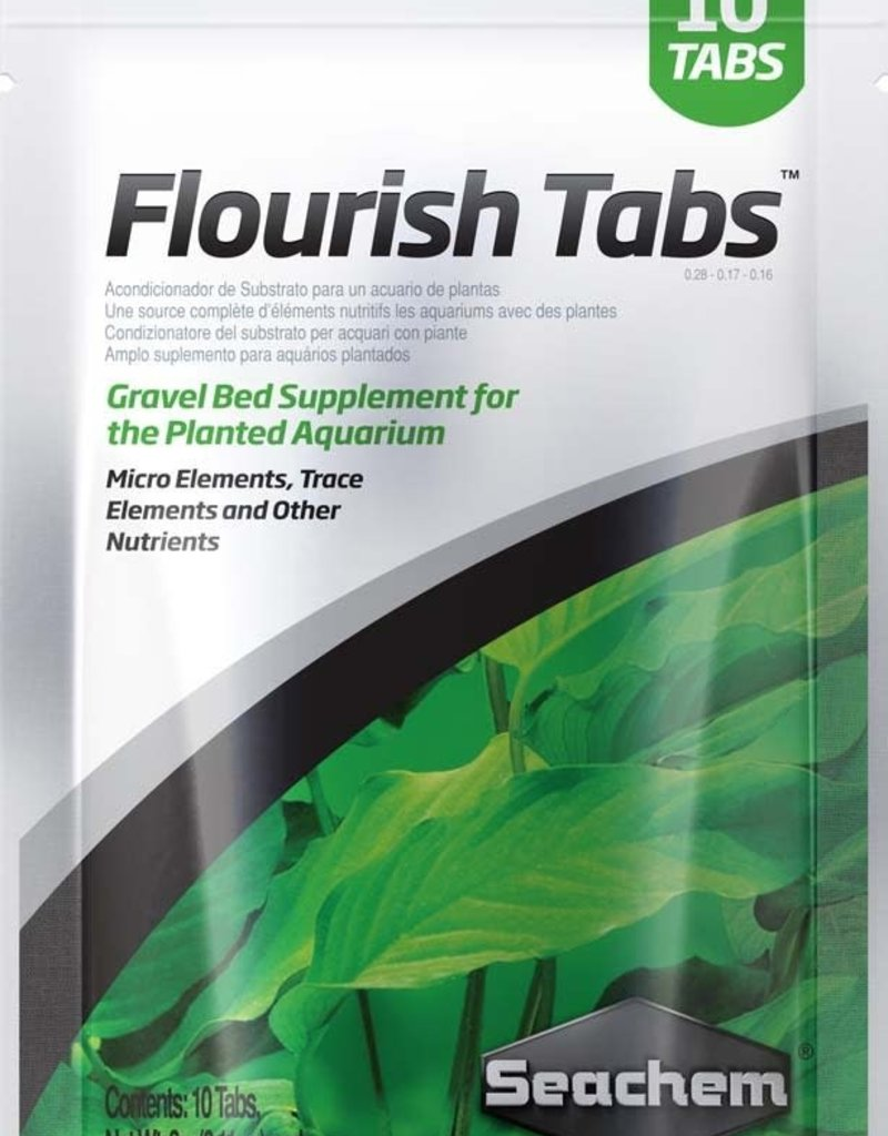 Seachem Laboratories, Inc. SLI Splmt Flourish Tabs 10pk