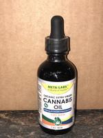 Meta-Labs Meta Labs Cannabis Sativa Extra Virgin Organic Oil 2oz