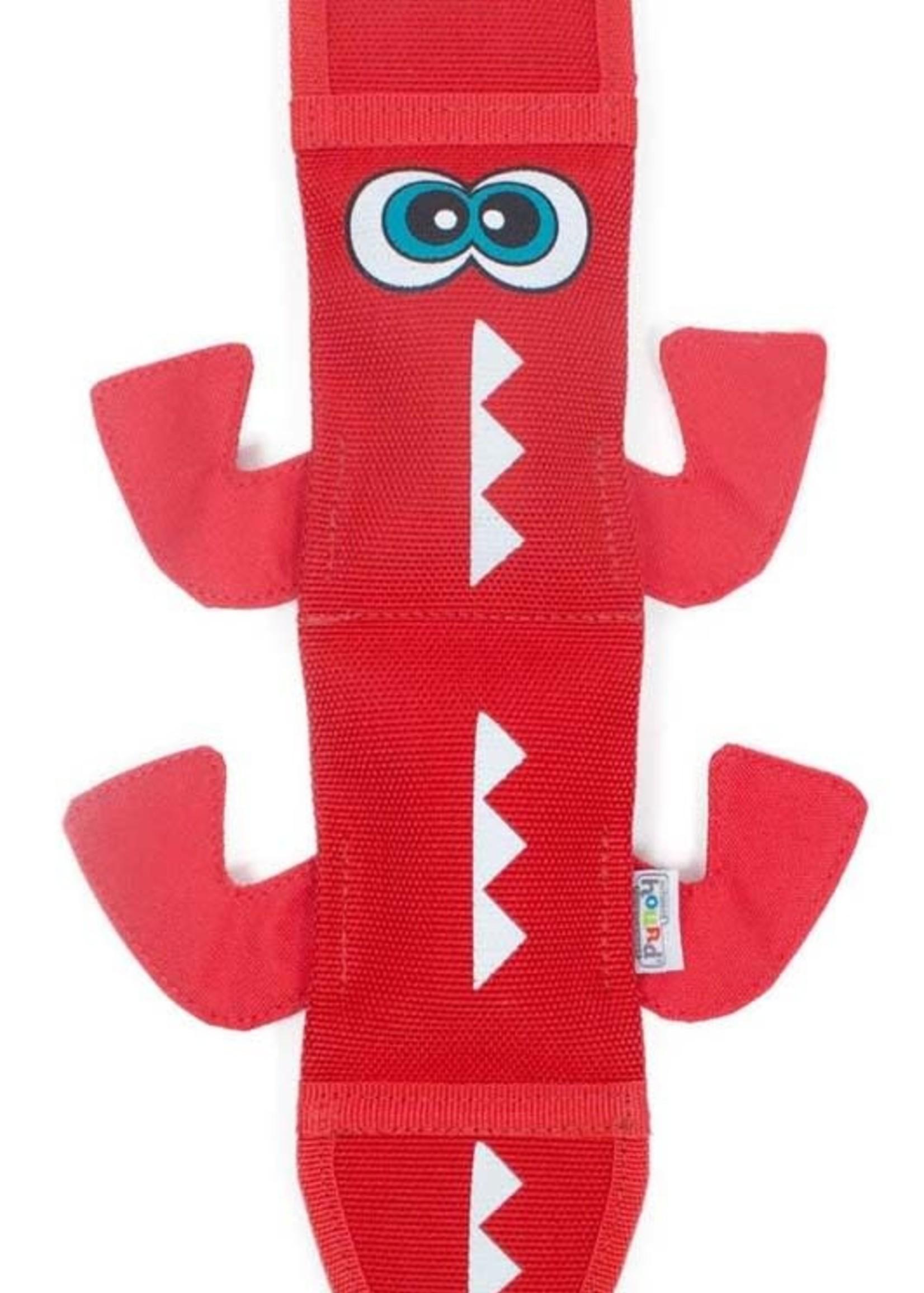 Outward Hound Outward Hound Fire Biterz Dragon 2 Squeakers Dog Toy Red