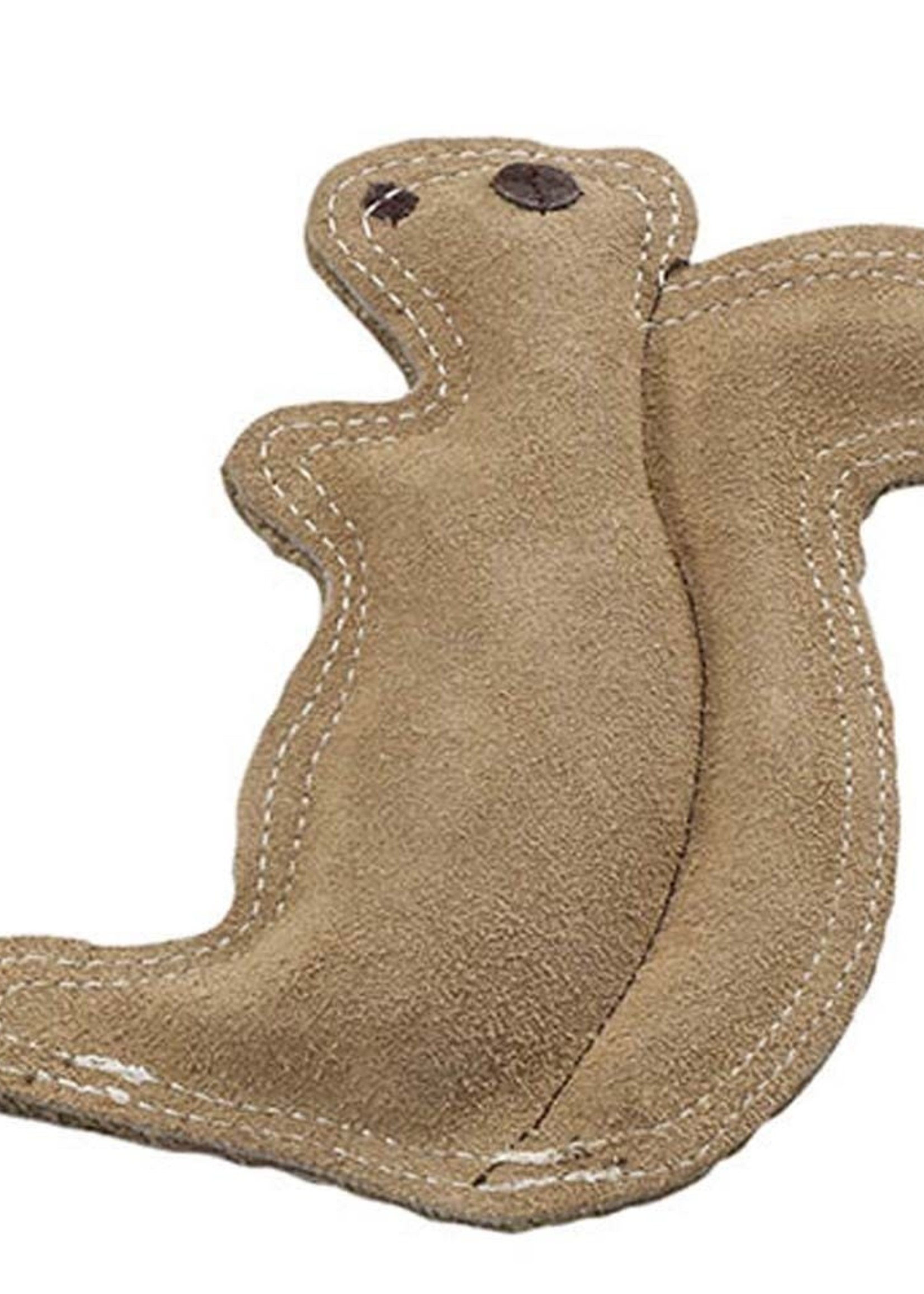 Ethical Product Inc./Fashion Pet/Lookin Good Spot Ethical Dura-Fused Leather & Jute Squirrel Small Toy