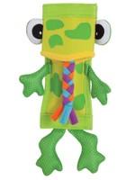 Zoobilee Zoobilee Firehose Frog Dog Toy Green