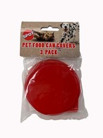 Spot Spot Pet Food Red Can Covers 3 Pack