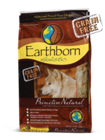 Earthborn by Midwestern Pet Earthborn Dog Primitive Natural Pea Free Formula 25#