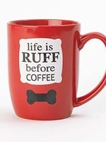 petrageous Petrageous Life is Ruff Before Coffee Mug 24oz