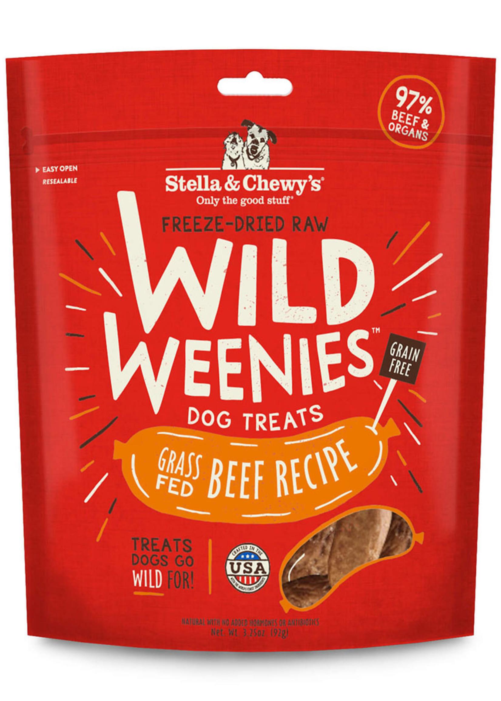 Stella & Chewys Stella & Chewy's Wild Weenies Beef 3.25oz
