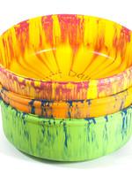 "Ruff Dawg Ruff Dawg Rubber Food Bowl 11"" Assorted Colors"