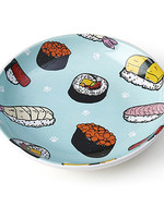 """petrageous Petrageous Sushi 5"""" Saucer Teal 2.5oz"""