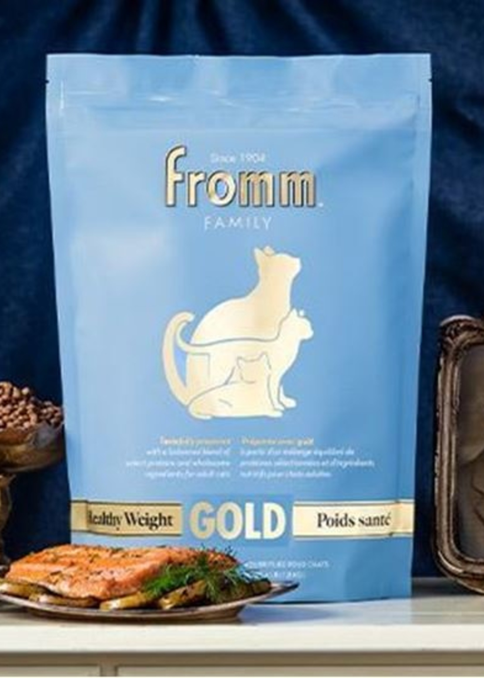 Fromm Family Foods, LLC Fromm Gold Healthy Weight Cat 4#