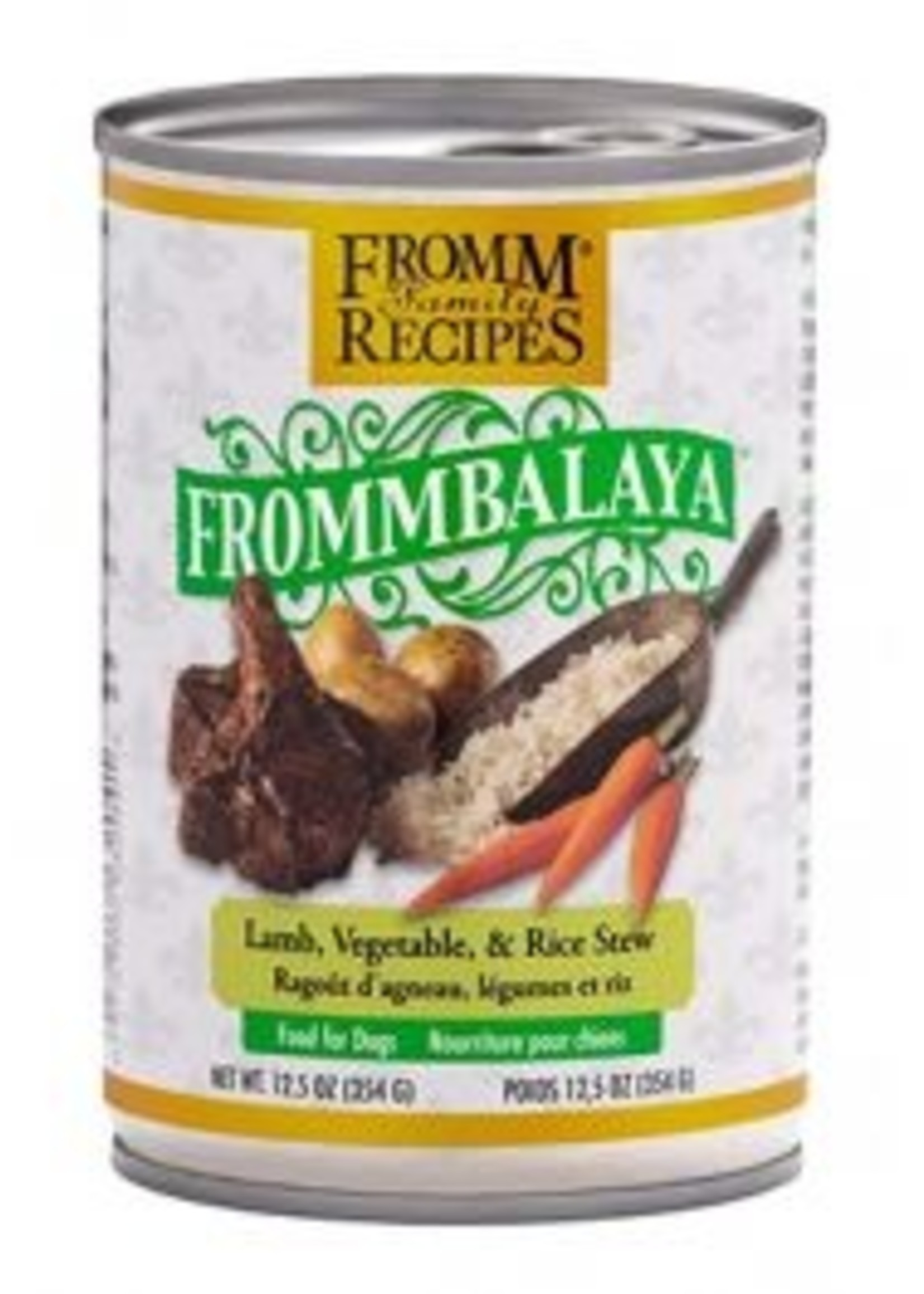 Fromm Family Foods, LLC Fromm Frommbalaya Lamb Vegetable Rice 12.5oz
