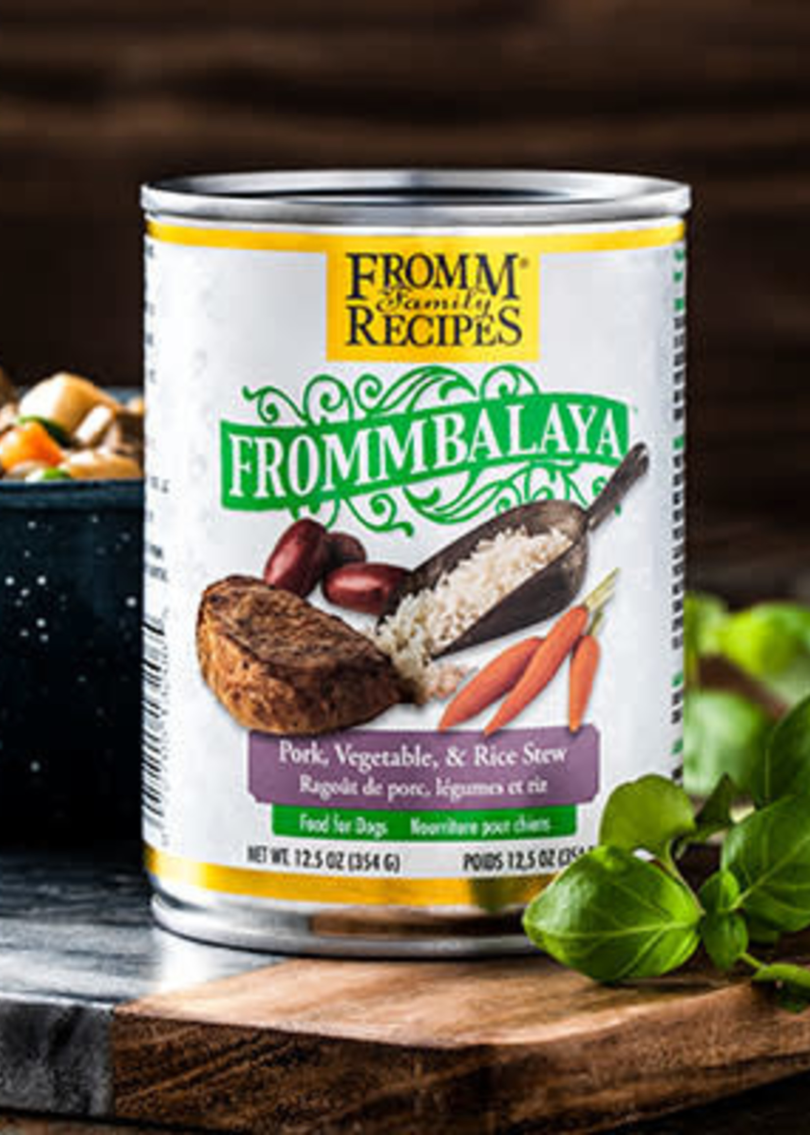 Fromm Family Foods, LLC Fromm Frommbalaya K9 Pork, Vegetable, & Rice Stew 12.5oz