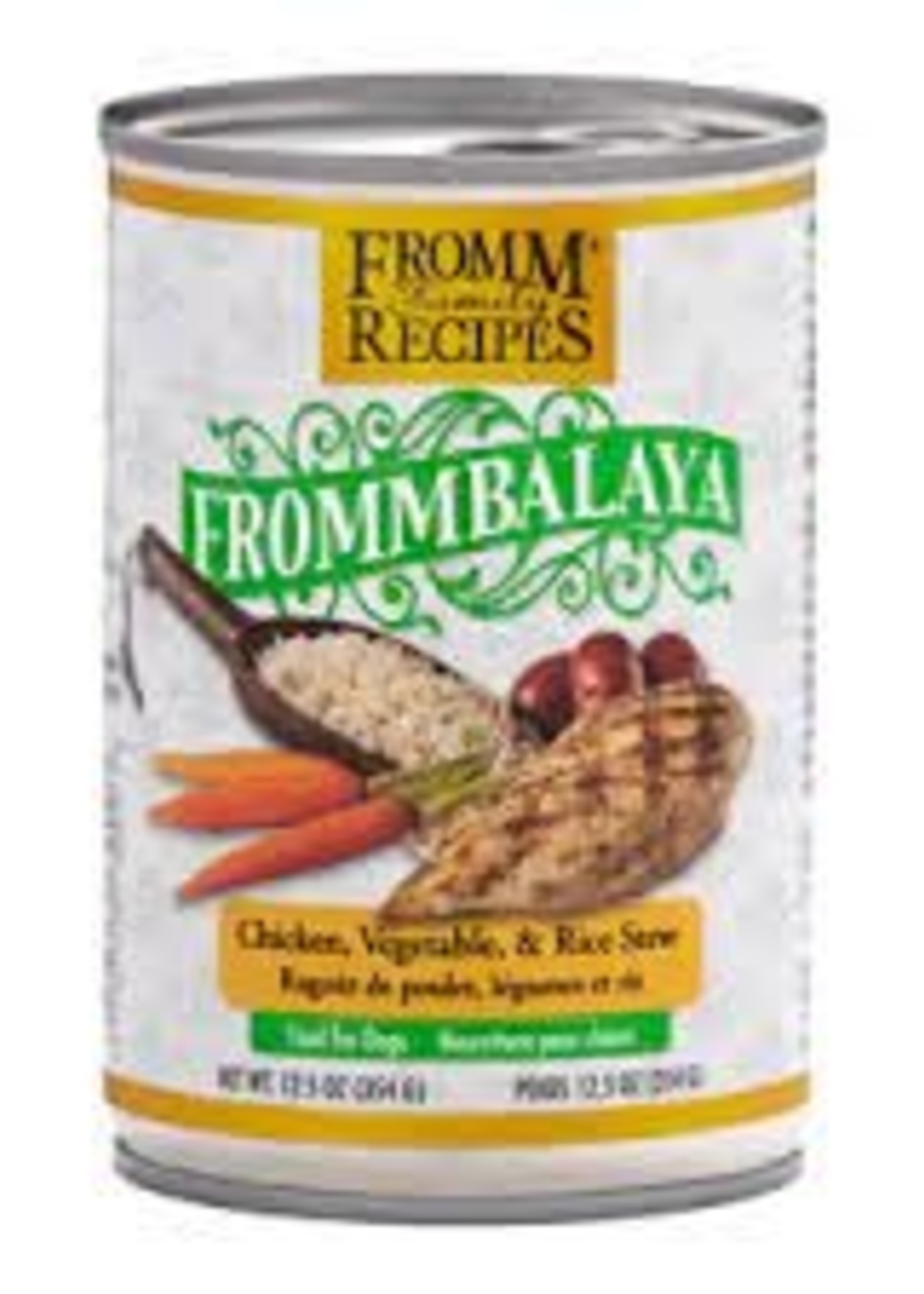 Fromm Family Foods, LLC Fromm Frommbalaya Chicken, Vegetable, & Rice Stew 12.5oz