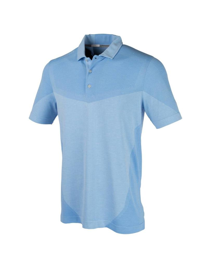 Puma Golf Puma Men's Evoknit Block Seamless Polo