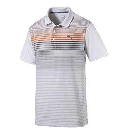 Puma Golf Puma Mens Highlight Stripe Polo