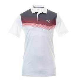 Puma Golf Puma Mens Road Map Polo