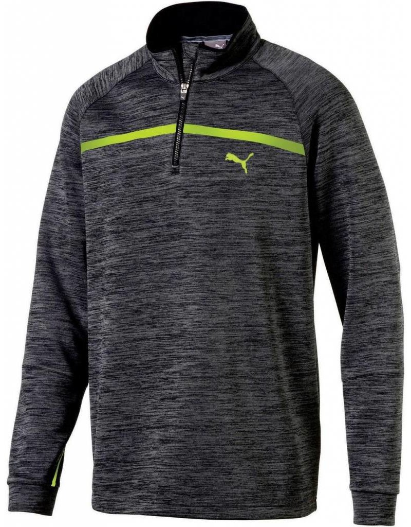 Puma Golf Puma Mens PWRWARM Bonded 1/4 Zip
