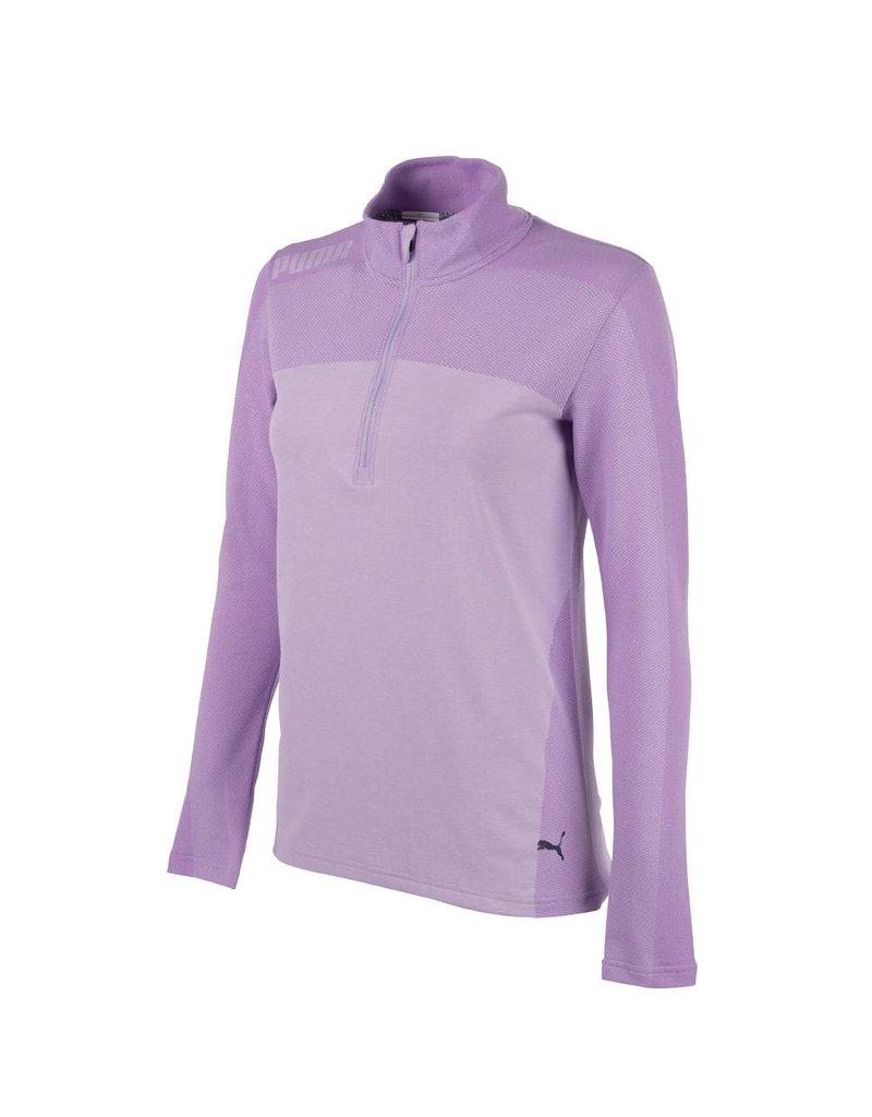 Puma Golf Puma Womens Evoknit Seamless 1/4 Zip