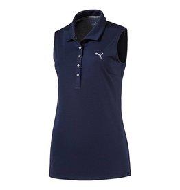 Puma Golf Puma Womens Pounce Sleeveless Polo