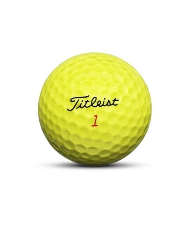 Titleist Titleist Balls DT Trusoft Yellow Dozen