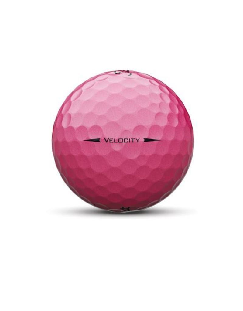 Titleist Titleist Balls Velocity Pink Dozen