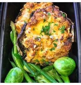 Greensmere Meals To Go - Stuffed Portobello Mushrooms