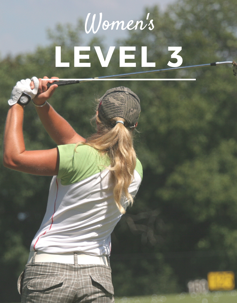 2019 Golf Clinic - Women's Level 3