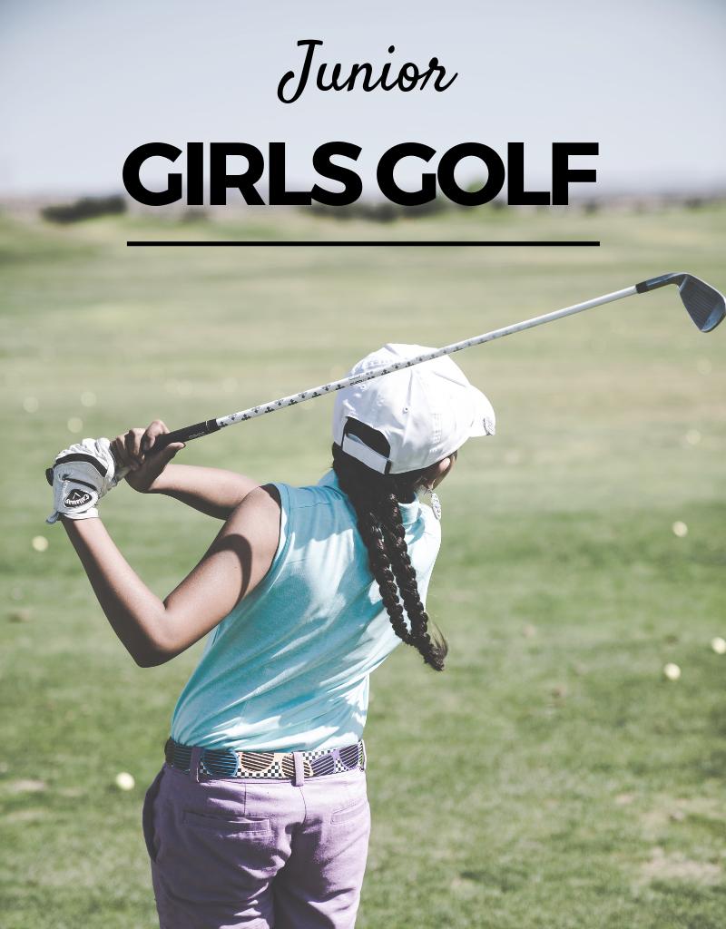 2019 - Girls Golf Camp