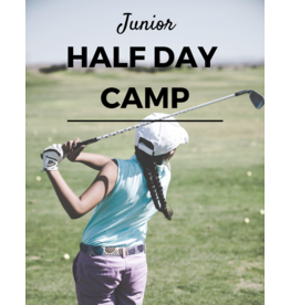 2019 - Half-Day Junior Golf Camp