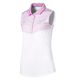 Puma Golf Puma Women's Chevron Sleeveless Polo