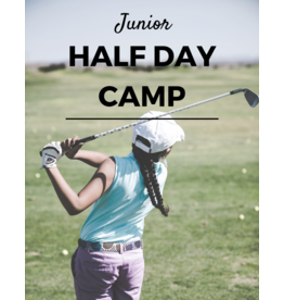 2020 - Half-Day Junior Golf Camp