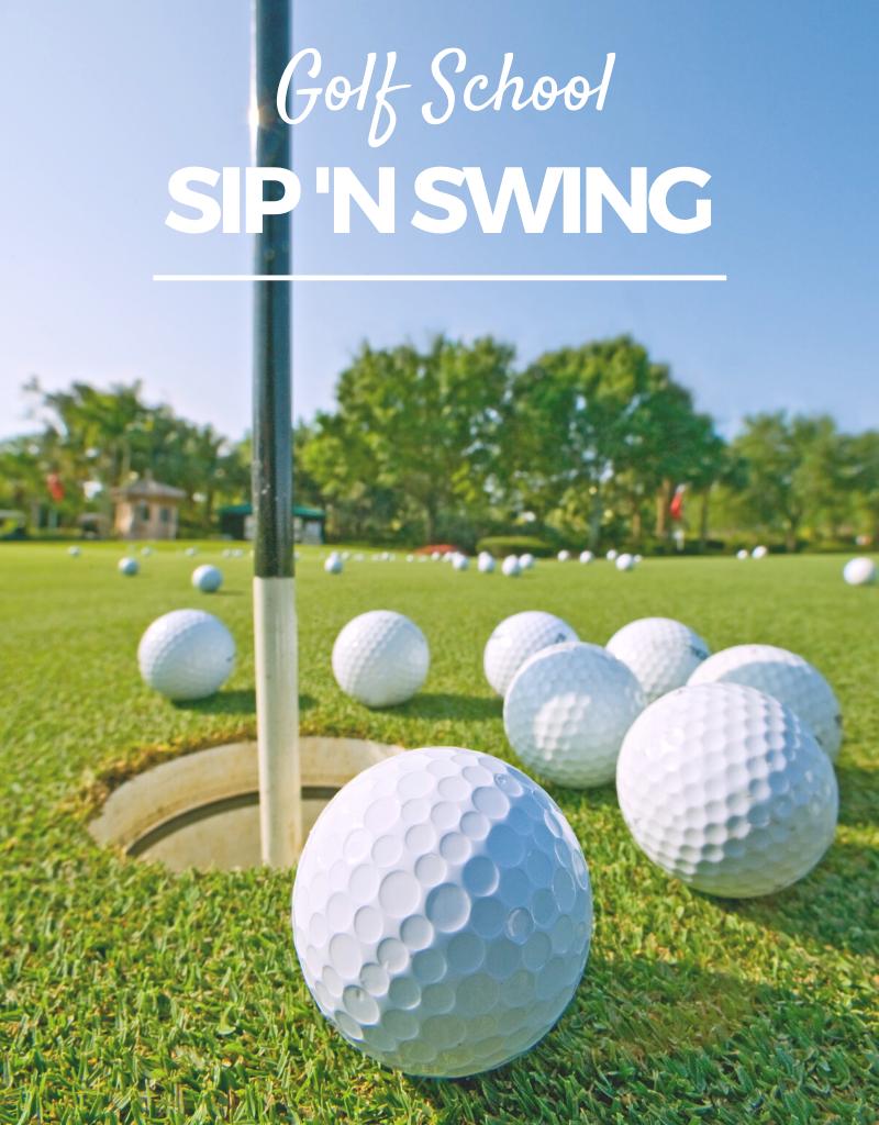 2020 Golf Clinic - Sip N Swing