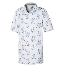 Puma Golf Puma Junior Boys Slow Play Polo