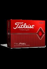 Titleist Titleist TruFeel Matte Red Dozen