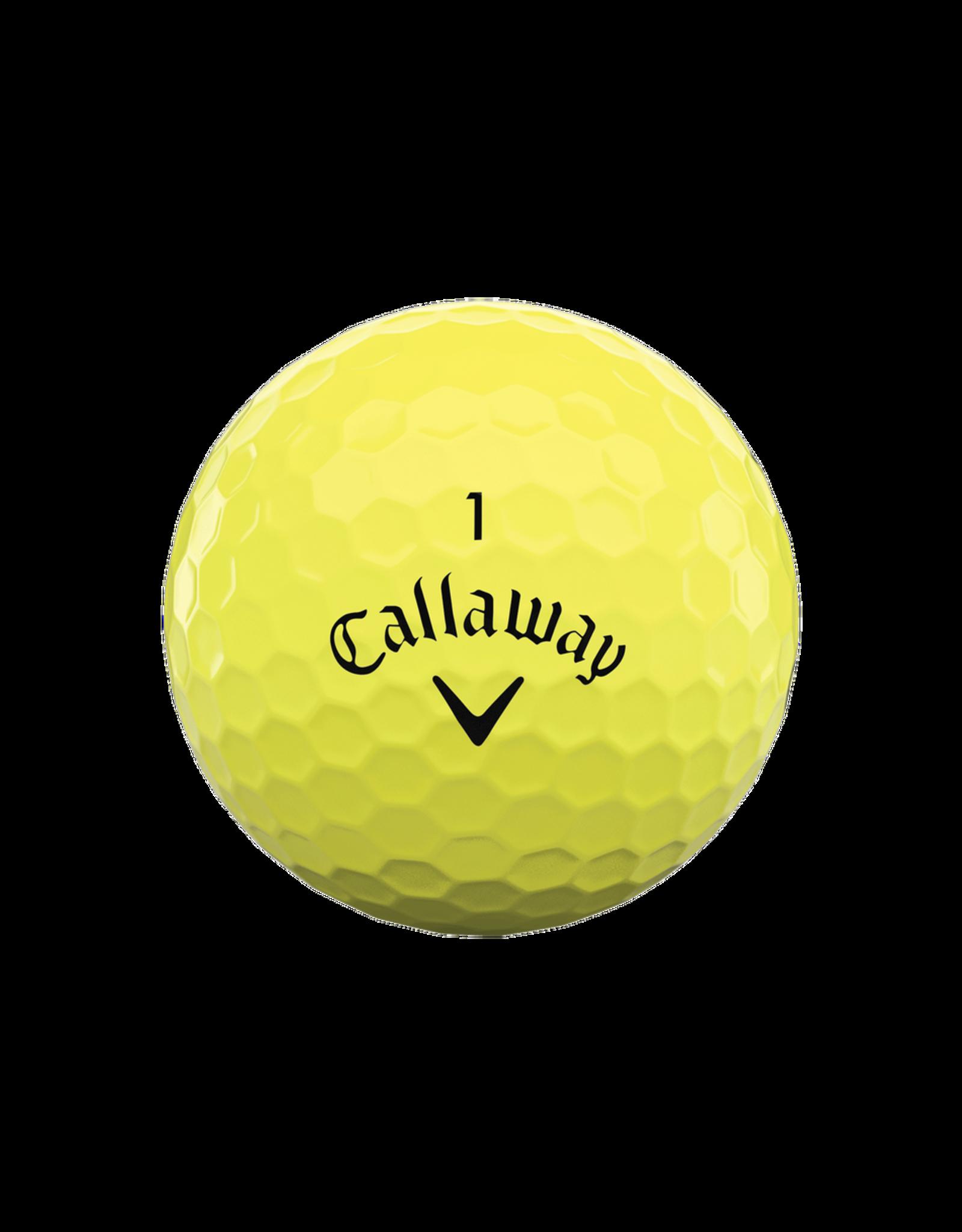 Callaway Callaway Balls Supersoft Yellow Dozen