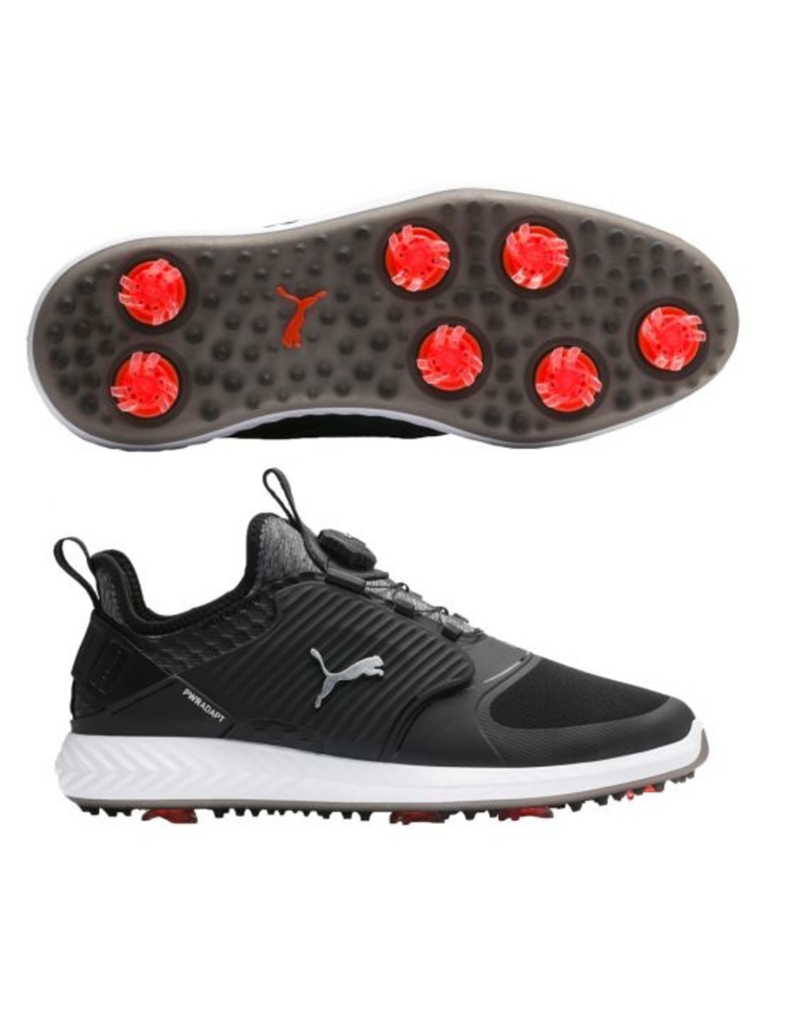 Puma Golf Puma Men's Ignite PWRADAPT Caged Disc Golf Shoes