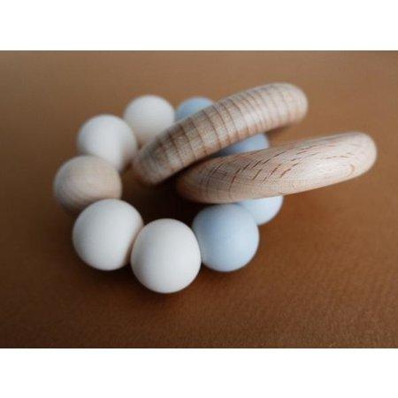 Minika - Hochet de dentition avec anneaux
