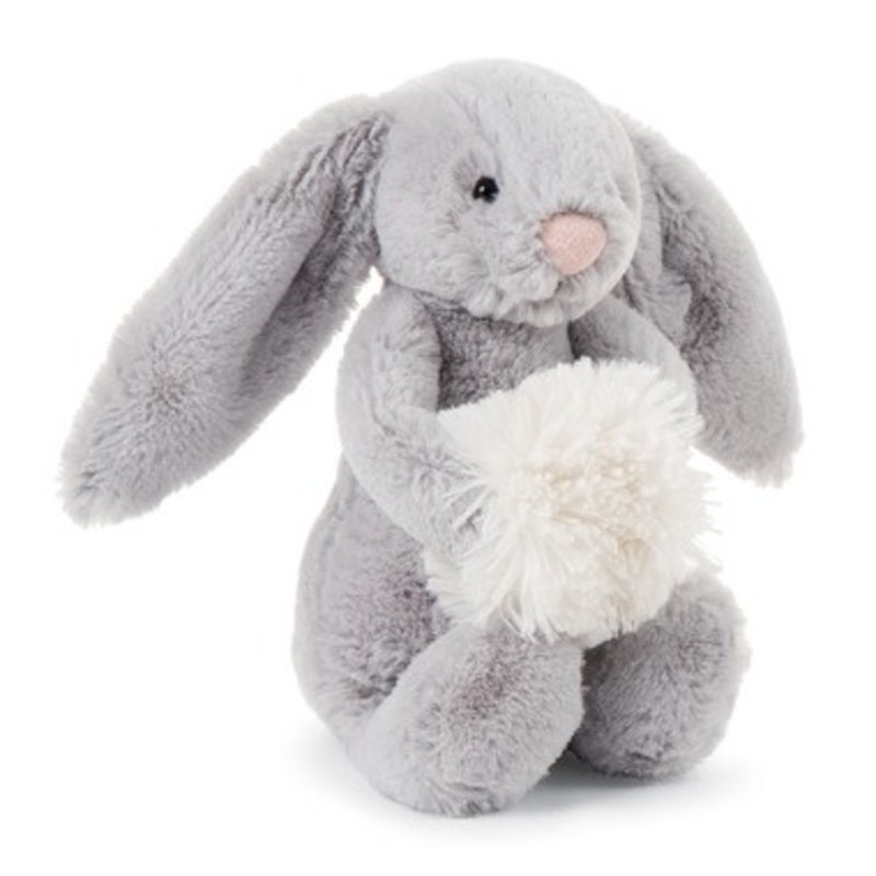 Jellycat Jellycat - Bahful grey snow bunny small