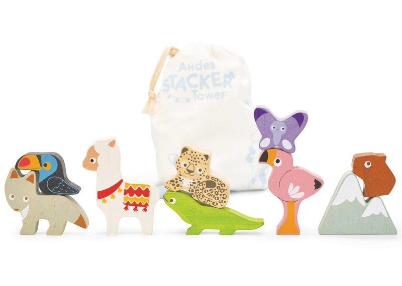Toy van - Animaux des andes