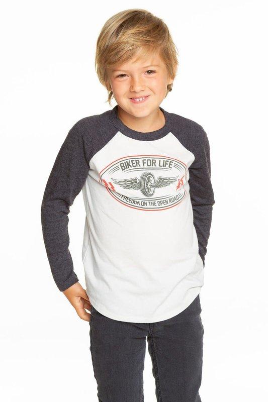 Chaser Chaser - Boys Cotton Jersey raglan baseball