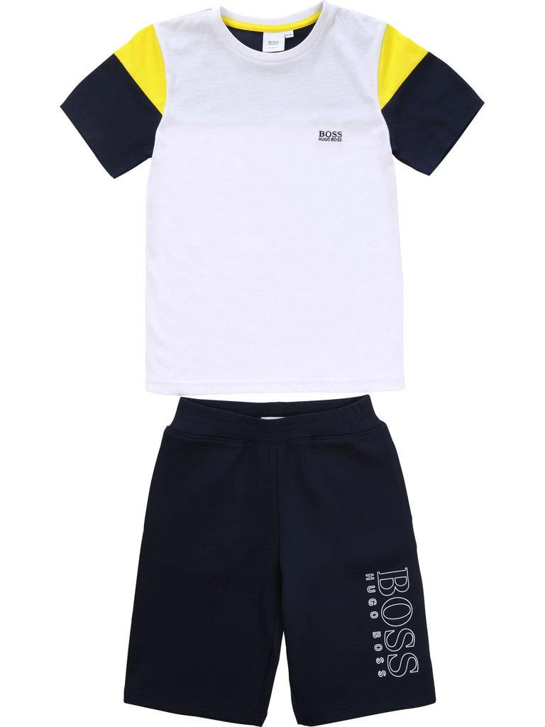 Hugo Boss - Ensemble tee-shirt + bermuda