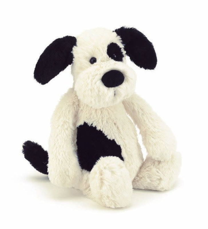 Jellycat Jellycat - Bashful black/cream puppy small