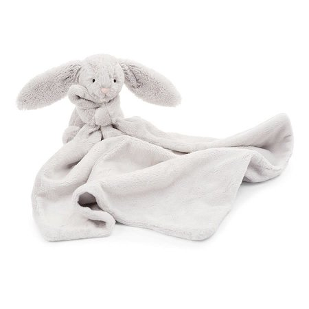 Jellycat Jellycat -  Bashful bunny Grey soother
