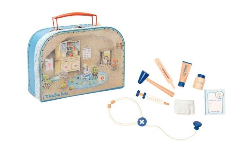 Moulin Roty Moulin Roty - Doctor medical suitcase