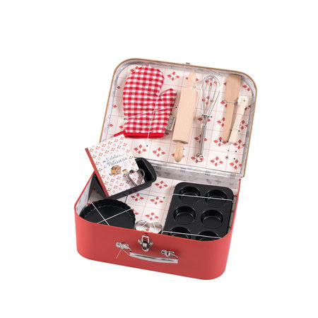 Moulin Roty Moulin Roty - Baking set case