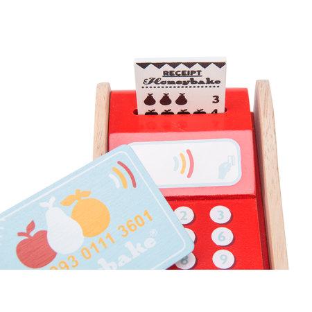 Le Toy van Toy Van- Machine a cartes bancaires
