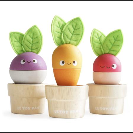 Le Toy van Toy van- Légumes empilables